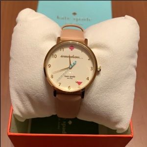 Kate spade somewhere... leather watch